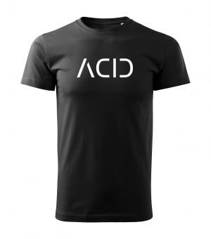 Acid Shirt Boys XXL | Schwarz | Weiss
