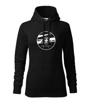 Overdrive Recordstore Hoodie Girls Big Logo