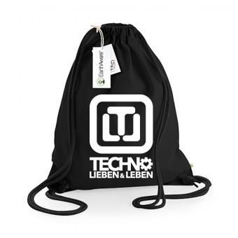Techno Lieben & Leben Turnbeutel Premium