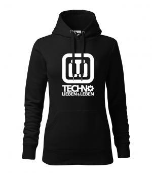 Techno Lieben & Leben Hoodie Girls