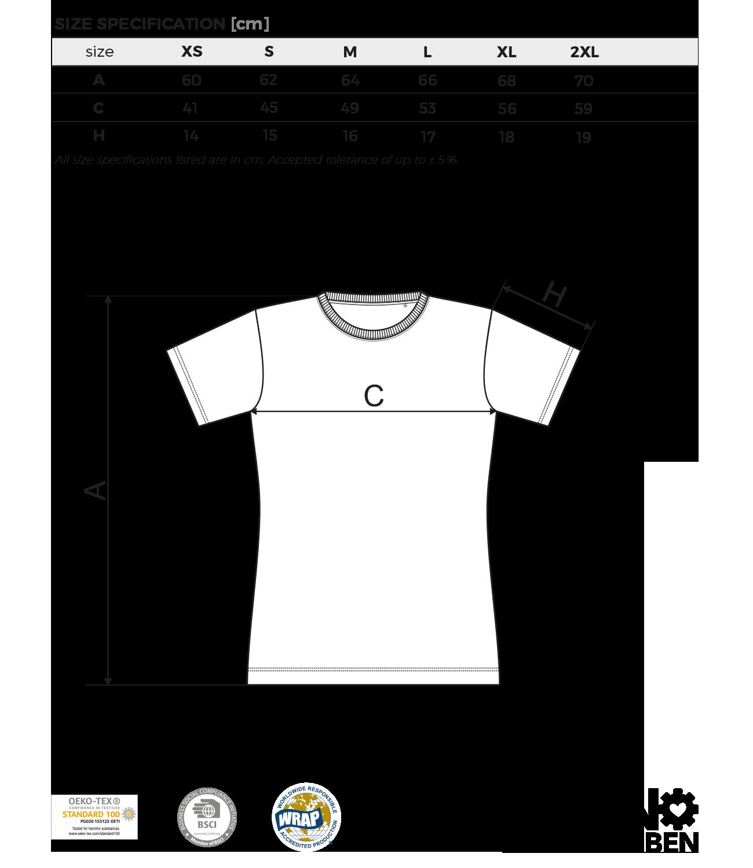 Größentabelle - Overdrive Recordstore Shirt Girls Big Logo